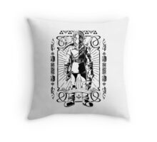 Vintage Link the Hero of TIme Throw Pillow
