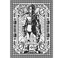 Vintage Link the Hero of TIme Photographic Print
