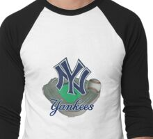 New York Yankees NY Men's Baseball ¾ T-Shirt