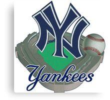 New York Yankees NY Canvas Print