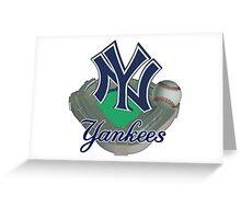 New York Yankees NY Greeting Card