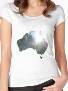 Australian Environment  Women's Fitted Scoop T-Shirt