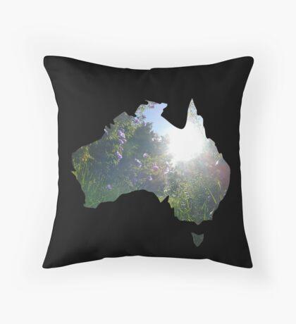 Australian Environment  Throw Pillow