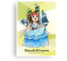 Princess of the Caribbean Canvas Print
