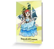 Princess of the Caribbean Greeting Card