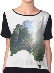 Australian Environment  Chiffon Top