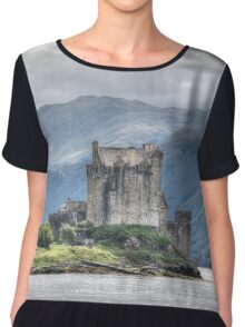 "Urquhart Castle, Loch Ness, Scotland - The ""Britain"" Collection Chiffon Top"
