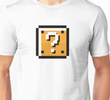 8 bit retro Question block Unisex T-Shirt
