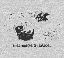 Meanwhile, In Space... (Grey) by KristyKate
