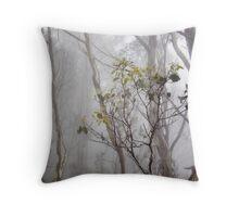 Mist in the Gums, Mt Wellington - Tasmania Throw Pillow