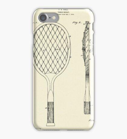 Tennis Racket-1927 iPhone Case/Skin