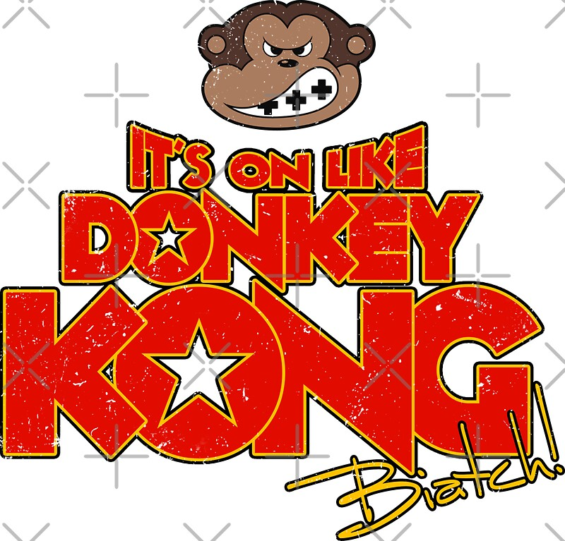 Its on like Donkey Kong Stickers by R evolution