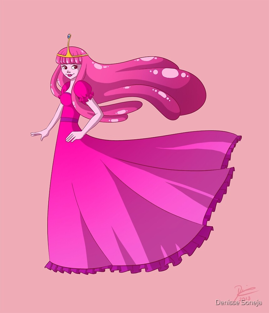 Princess Bubblegum by Denisse Soneja