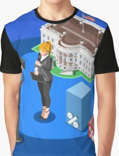 Election News White House USA Infographic Graphic T-Shirt