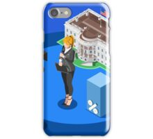 Election News White House USA Infographic iPhone Case/Skin