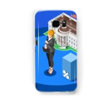 Election News White House USA Infographic Samsung Galaxy Case/Skin