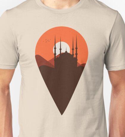 Sunset on the desert Unisex T-Shirt