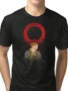 Falling Apart - Circle Tri-blend T-Shirt