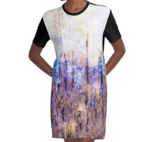 abstract 9,16d Graphic T-Shirt Dress