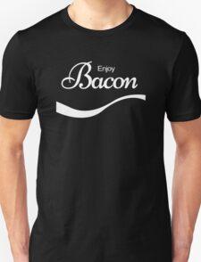 ENJOY BACON Funny Humor T-Shirt