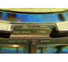 A fresnel From Paris Photographic Print