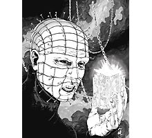 Original Pinhead Hellraiser Horror Design Photographic Print