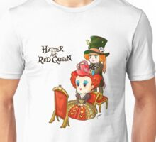 Hatter and Queen Unisex T-Shirt
