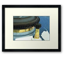 Lighthouse Lens Gears Framed Print