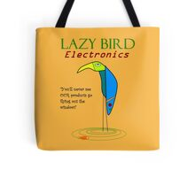 Lazy Bird Electronics Tote Bag