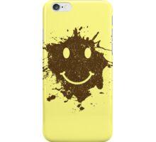 Vintage Mud Smiley iPhone Case/Skin