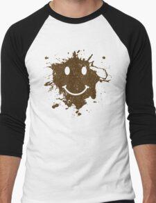 Vintage Mud Smiley Men's Baseball ¾ T-Shirt
