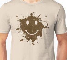Vintage Mud Smiley Unisex T-Shirt