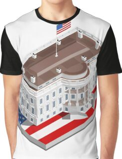 Election Infographic USA White House Graphic T-Shirt