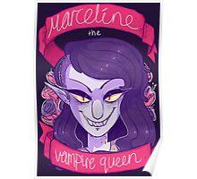 MARCELINE THE VAMPIRE QUEEN! Poster