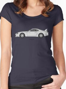 Toyota Supra Women's Fitted Scoop T-Shirt