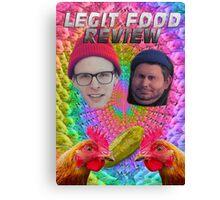 LEGIT FOOD REVIEW h3h3 idubbbz COLLAB  Canvas Print