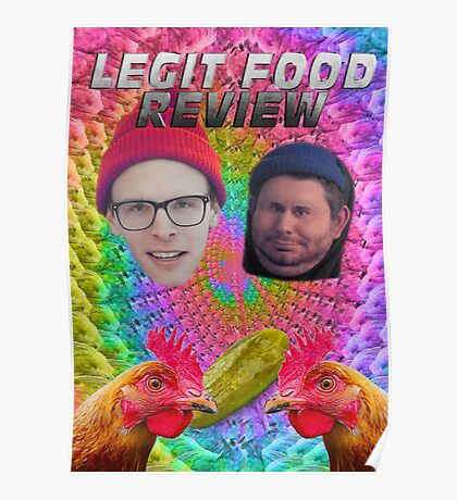 LEGIT FOOD REVIEW h3h3 idubbbz COLLAB  Poster