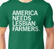 America Needs Lesbian Farmers Unisex T-Shirt