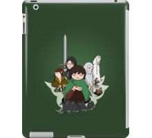 Tolkien Time - The Fellowship iPad Case/Skin