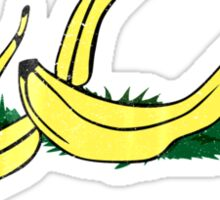 Vintage Banana Gadsen Flag Spoof Sticker