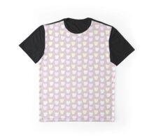 Cute Happy Kitten Graphic T-Shirt