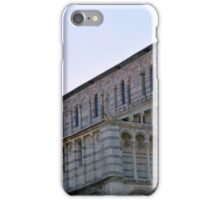 8 August 2016 Classical monuments from the world famous Piazza dei Miracoli in Pisa, Italy. iPhone Case/Skin