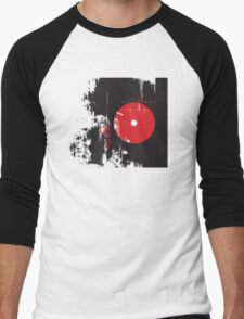 Faded Vinyl Men's Baseball ¾ T-Shirt