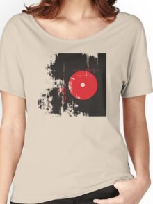 Faded Vinyl Women's Relaxed Fit T-Shirt