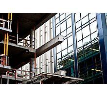 Construction Prongs Photographic Print