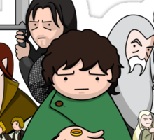 Tolkien Time - The Fellowship Sticker