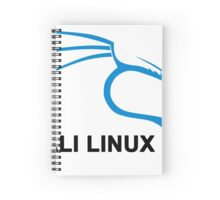 Kali Linux Stickers Spiral Notebook
