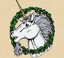 Unicorn Enwreathed by Richard Fay