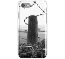 barb barb,,,barbed wire  iPhone Case/Skin