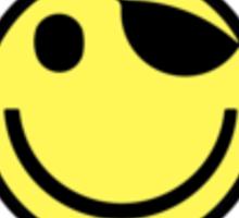 Hackers Smiley v1 Sticker